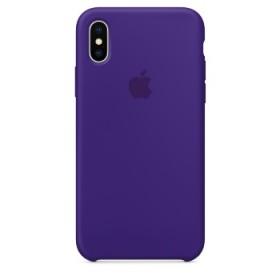 Apple Silicon Case Ultraviolet Originale per iPhone X