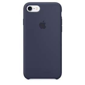 Cover originale Apple iPhone 7  iPhone 8 Silicon Case Midnight Blue