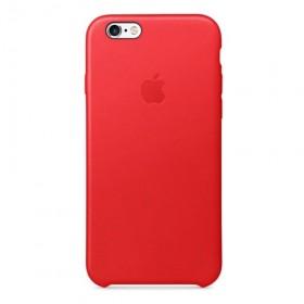 Cover Originale Apple Leather Case Red  iPhone 6 6s Plus
