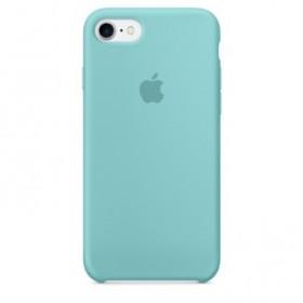 Cover originale Apple Silicon Case Sea Blue iPhone 7 e 8