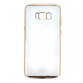 Cover Clear Zero Metal Samsung Galaxy S8 Gold