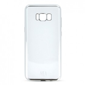 Cover Clear Zero Metal Samsung Galaxy S8 Silver