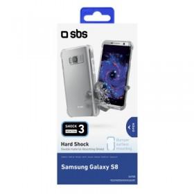 Cover Antishock per protezione dagli impatti, per Samsung Galaxy S8, colore trasparente