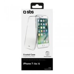 Cover Crystal, Trasparente, per iPhone 6 4,7 / iPhone 6s