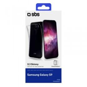 Cover Skinny 03 in TPU, colore Trasparente,  per Samsung Galaxy S9