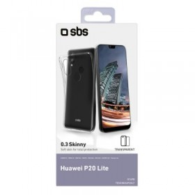 Cover skinny per Huawei P20 Lite, colore trasparente