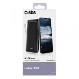 Cover skinny per Huawei P20, colore trasparente