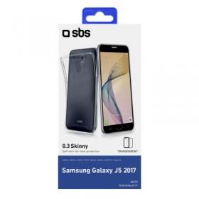 Cover Skinny per Samsung Galaxy J5 2017, colore trasparente
