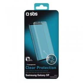 Screen protector Clear Curvo per Samsung Galaxy S9 con copertura totale dello schermo