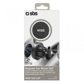 Supporto magnetico linea WIDE, aggancio a clip da bocchetta aerazione