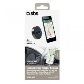 Supporto universale per smartphone magnetico, aggancio adesivo