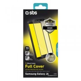 Screen protector full cover per Samsung galaxy j6, colore nero
