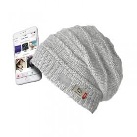Cappello WOOL, wireless 4.1, con microfono, comandi e auricolari integrati, colore bianco