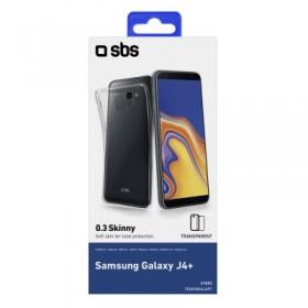Cover per Samsung Galaxy J4+, colore trasparente